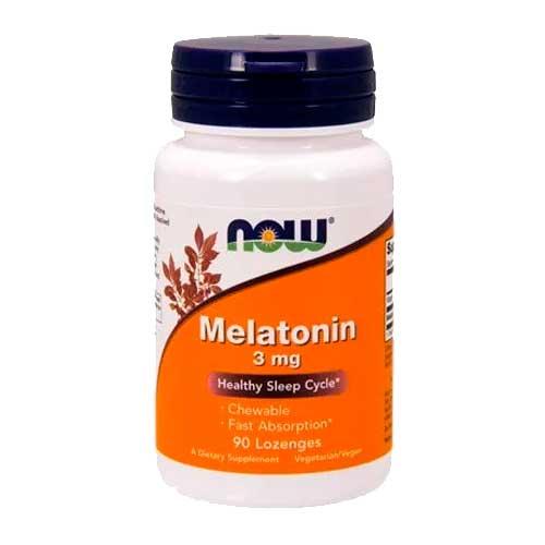 Melatonina 3 mg - Now Foods