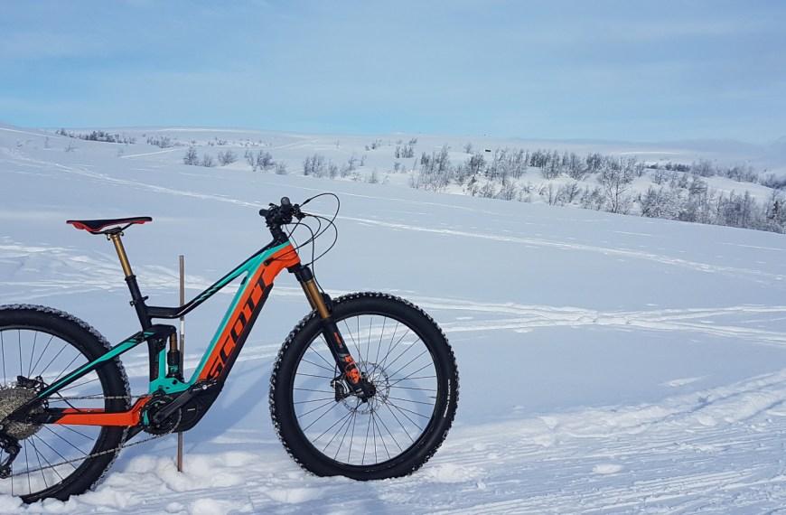 Vintertest: 2018 Scott eGenius 700 Tuned