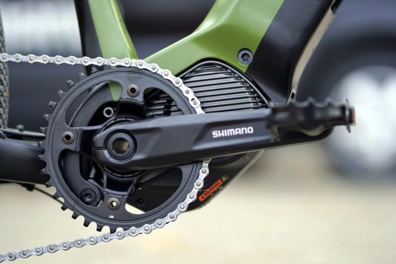 Begge syklene har Shimano EP8 motoren og 630Eh batteri