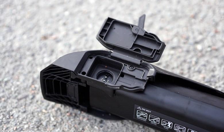 Nytt design på kontakten mellom motor og batteri.