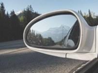 Looking back on Mount Robson, British Columbia