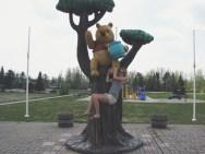 Winnie the Pooh, White River, Ontario
