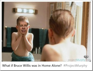 What If Bruce Willis Was in Home Alone?
