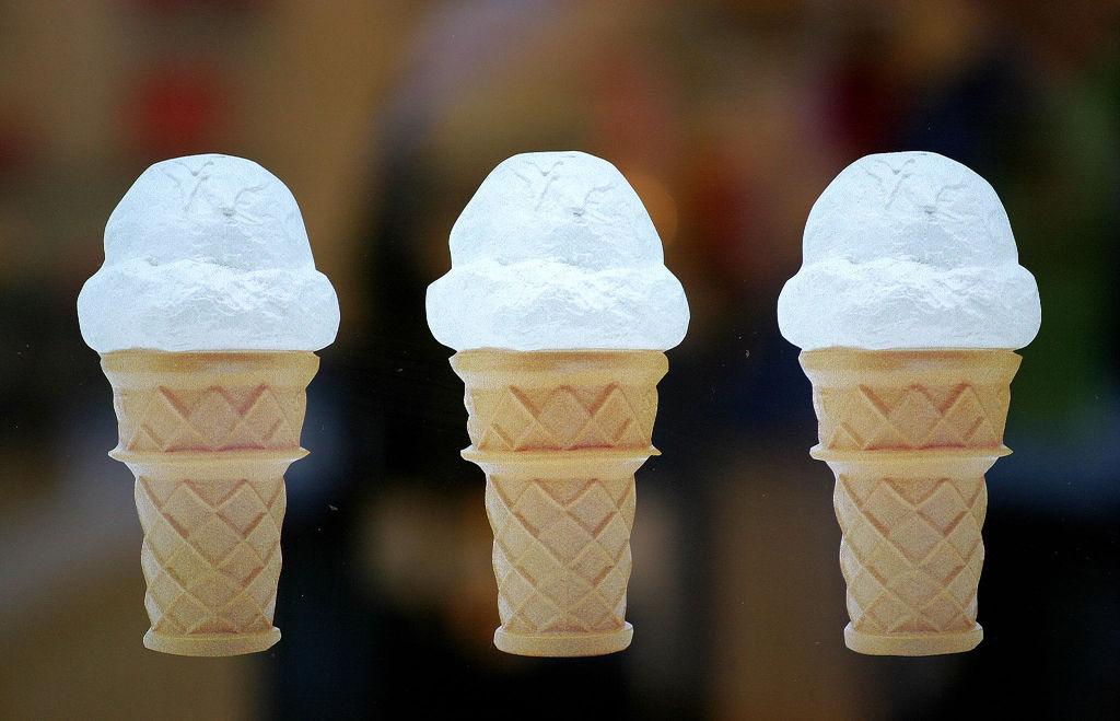 ice cream cone photo