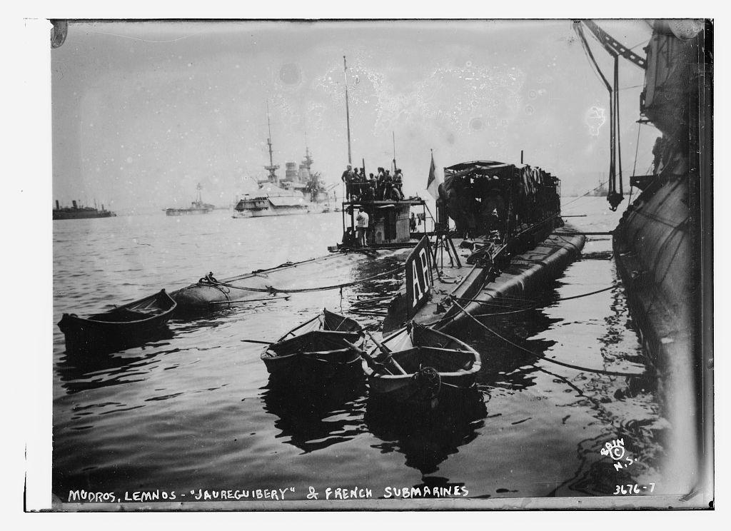 french submarine photo