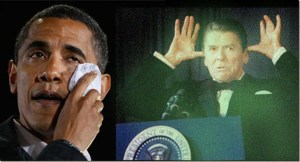 Reagan's Ghost Haunting Whitehouse, Wants Obama Out, Literally