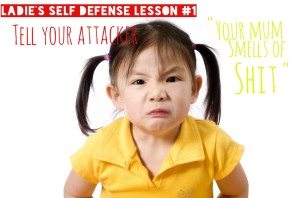 Ladie's Self Defense Lesson#1