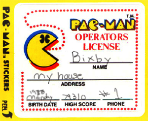 Back In The Day Pac Man Required a License to Chomp