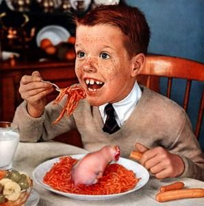 Creepy Dinner, Just Like Mom Used to Make