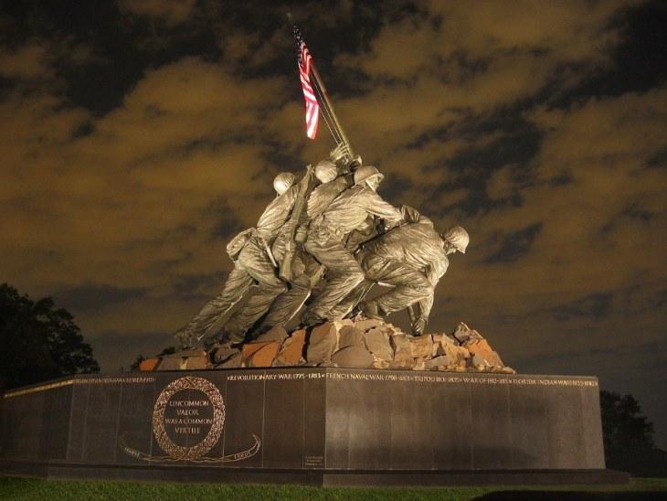 Marine Corps War Memorial Arlington VA
