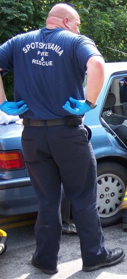 EMT pants in field