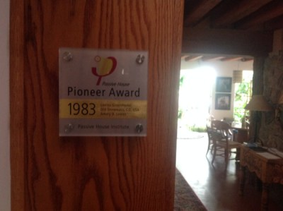 Rocky Mountain Institute - Passivhaus Pioneer Award