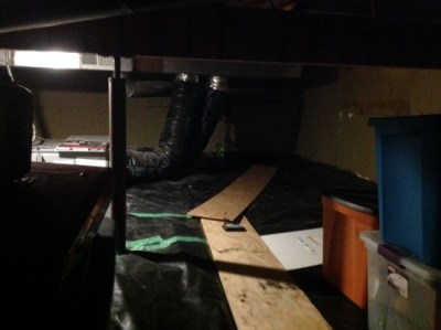 The thermally refurbished crawl space