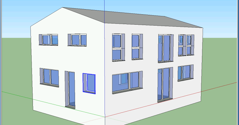 compactness ratio of a building example