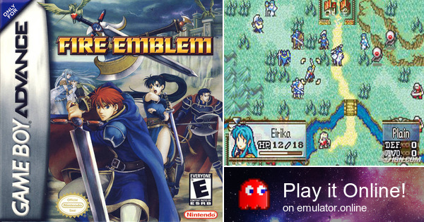 Play Fire Emblem 7 The Sword Of Flame On Game Boy