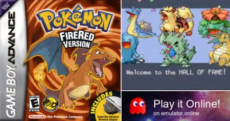 Play Game Boy games Pokemon FireRed Version