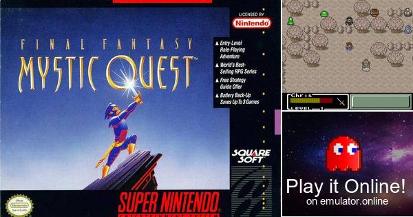 Play Final Fantasy Mystic Quest On Super Nintendo