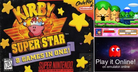 Play Super Nintendo SNES games Kirby Super Star