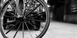 Ride the big wheel - Kodak Double-X (5222) shot at ISO250