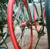 Red rims - Lomography Color Negative 400 shot EI 400. Color negative film in 120 format shot as 6x6.