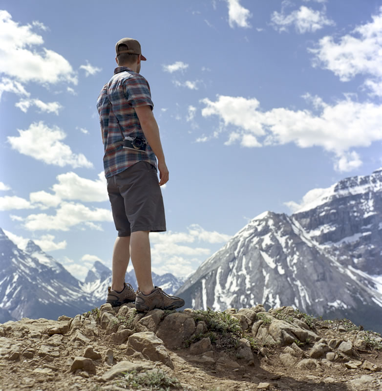 """Outlook"", Paget Peak Yoho National Park, British Columbia - Rolleiflex 3.5F | Kodak Ektar 100"