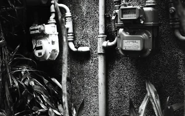 On the meter – Shot on Rollei Superpan 200 at EI 400 (120 format)