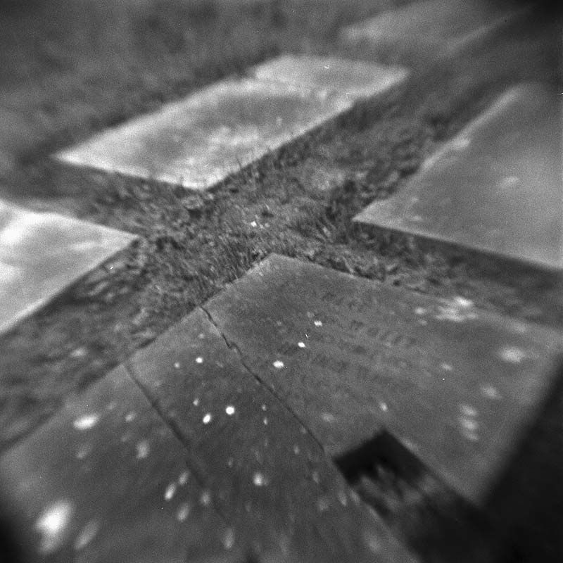 Stonecold in Neerbosch - Kodak Brownie Hawkeye (flipped lens) - Kodak TMAX 400