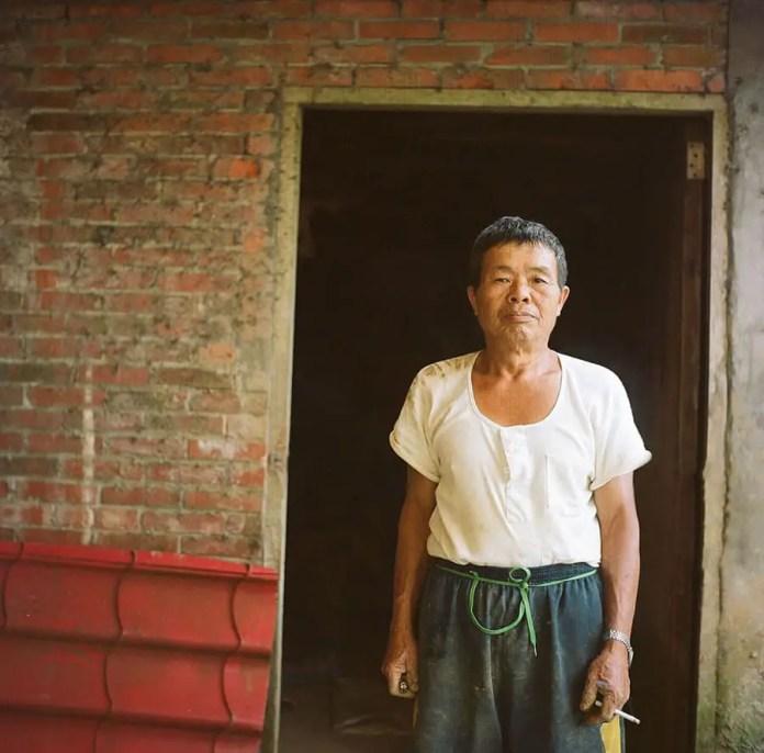 Taiwanese Farmer, Mr. Hong Yashica Mat 124G, (expired) Kodak Portra 160NC