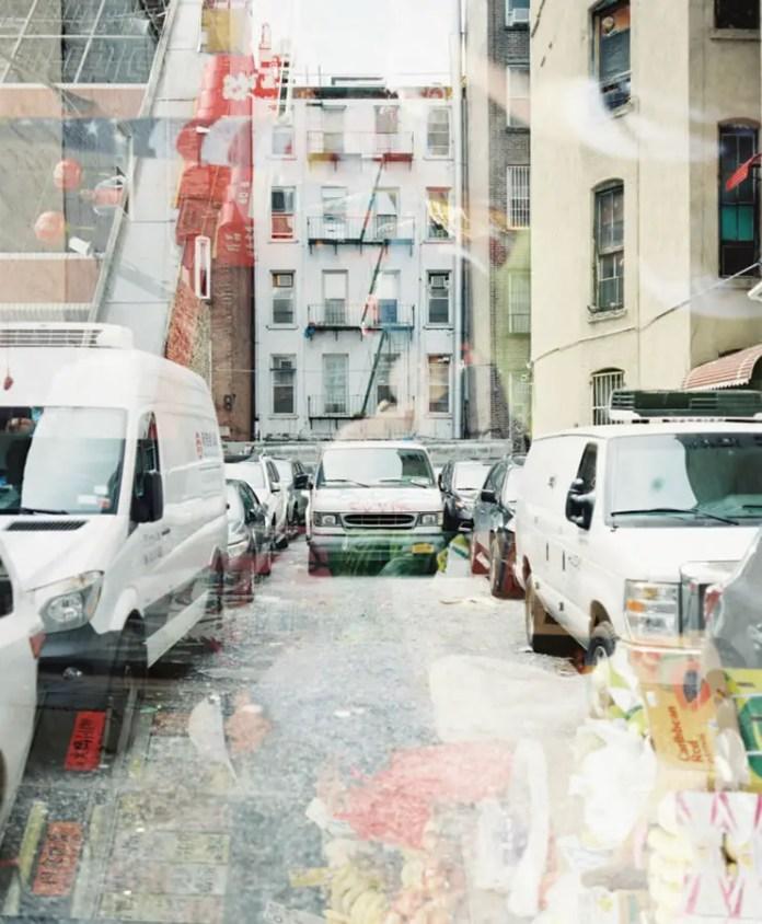 Doubled Up – New York City - Plaubel Makina 670 + Fuji Pro 400 H