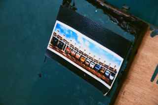 Choo choo - Kodak VISION3 250D 35mm motion picture film shot at ISO250