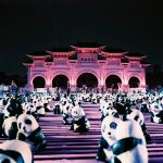 Panda party! - Lomochrome Purple XR 100-400 shot at ISO400.