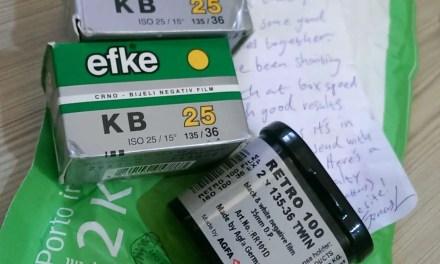 Film review: Efke KB-25 – 35mm format