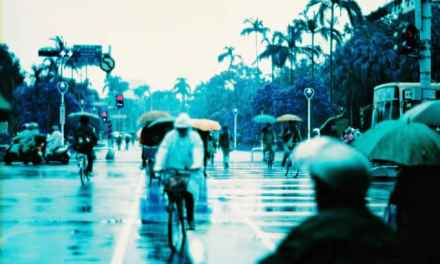 Rainy days, rainy haze – Lomochrome Purple XR 100-400 (35mm)