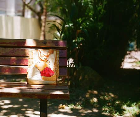 Sunny honey bear – Fuji Superia 100 (120)