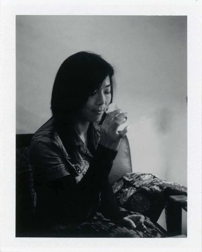 Cat - Polaroid 250 - Fuji FP3000B