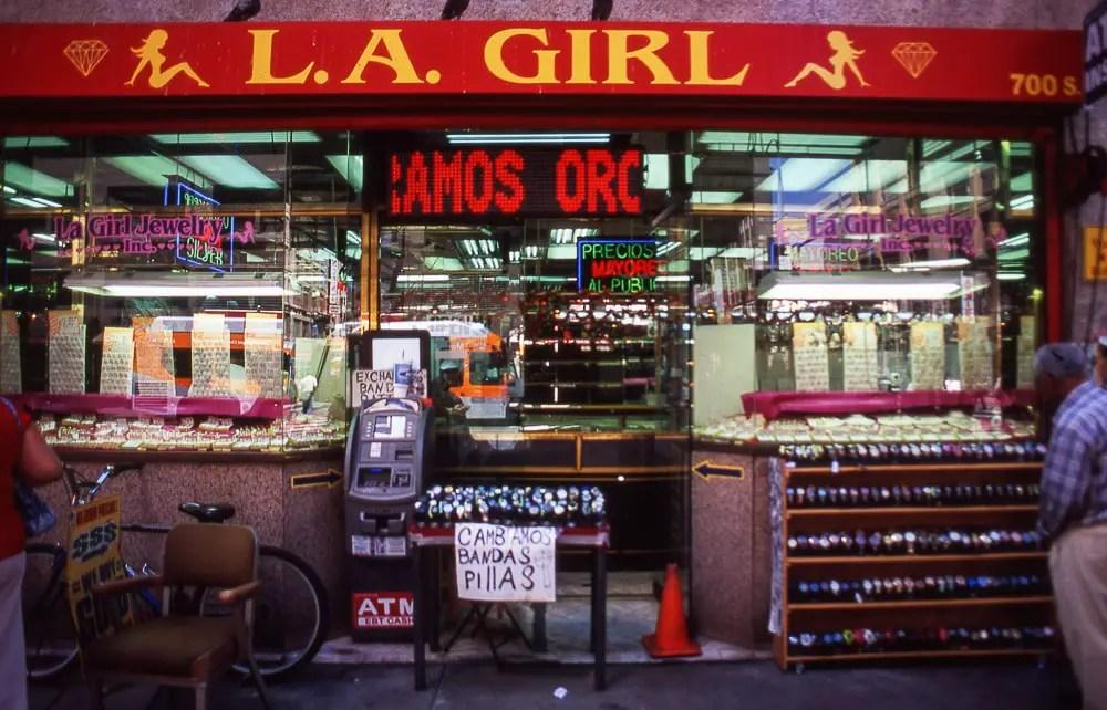 L.A. Girl   Fujichrome Velvia Professional 100 + Olympus OM 1
