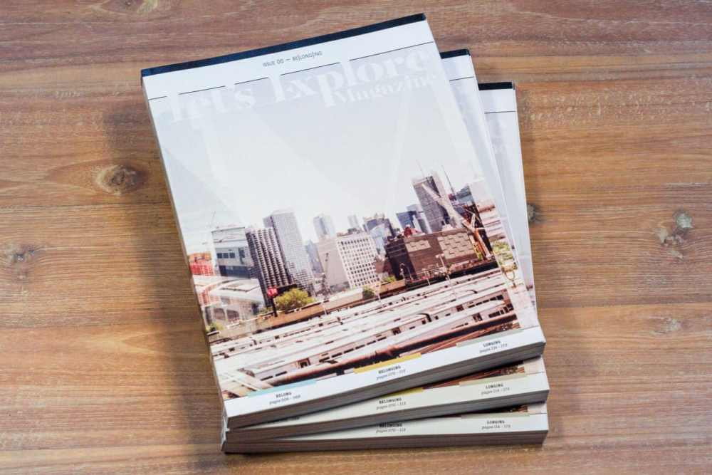 Let's Explore Magazine - issue 01 pre-production