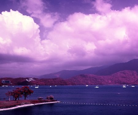 Hyggelig – Shot on Kodak AEROCHROME III 1443 (120)