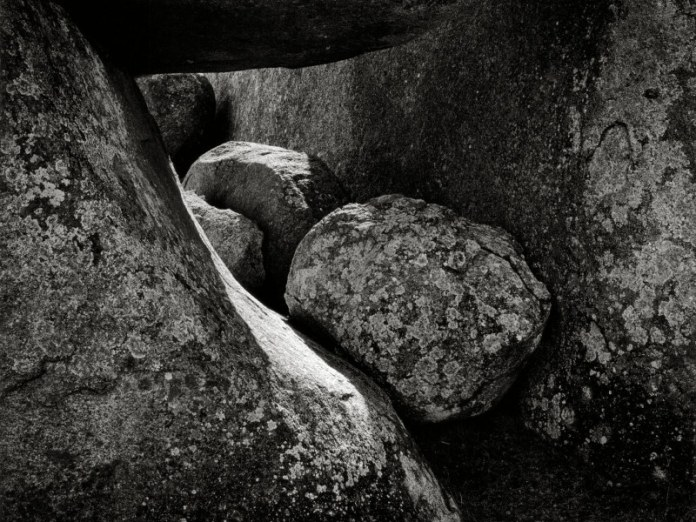 Granite boulders, New England, NSW - Hasselblad 500C/M, Kodak T-MAX 100