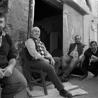 Taking a rest in Istanbul - Keith Moss