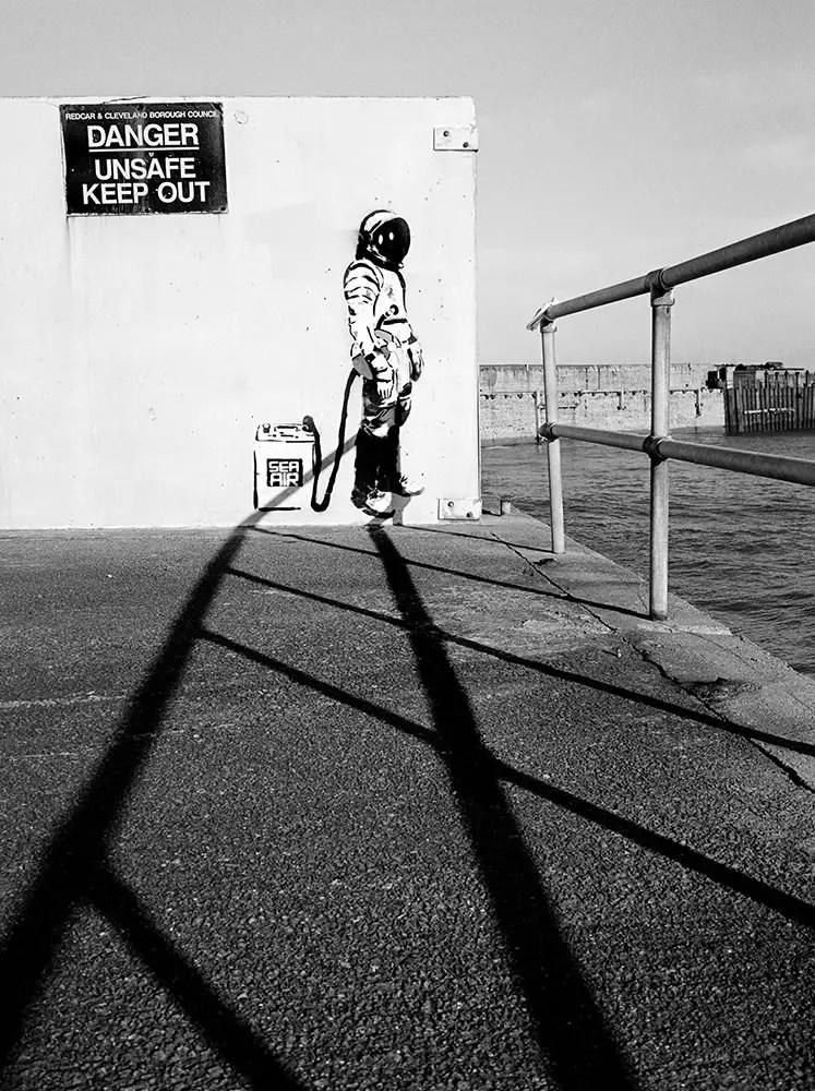 Spaceman in Skinningrove - Keith Moss