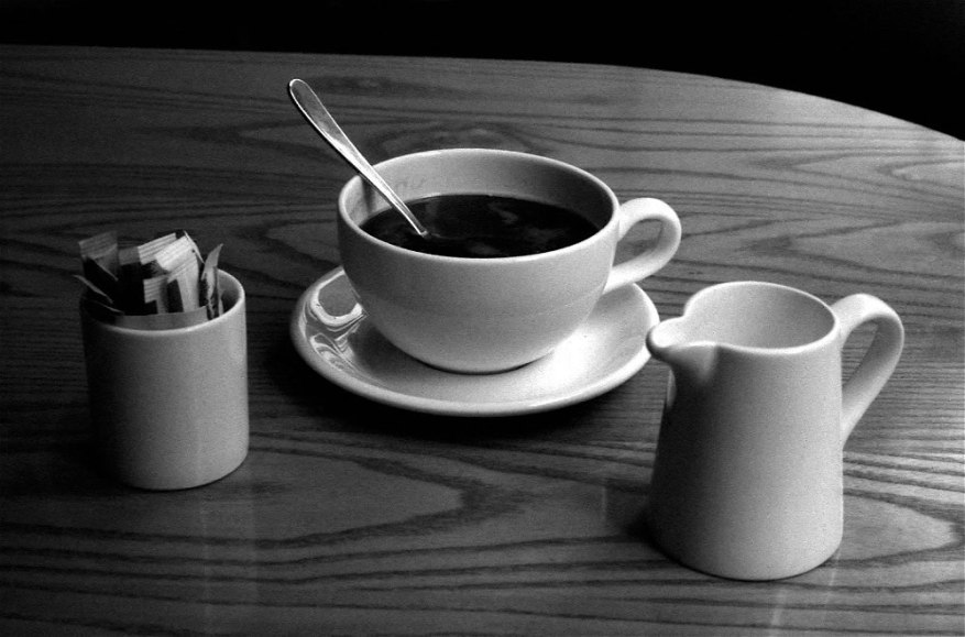 Coffee Break: Olympus 35RC on Ilford HP5+