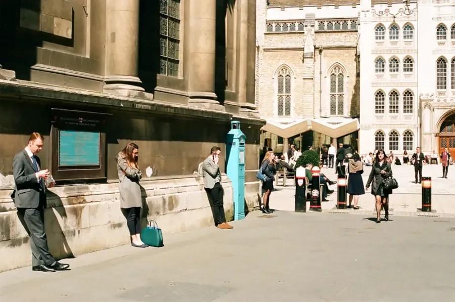 Guildhall - Olympus OM-1n, Kodak Porta 400
