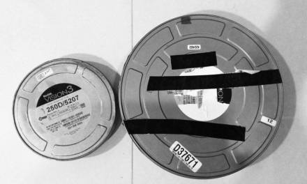 Bulk loading 120 film using 65mm Kodak 250D (5207)