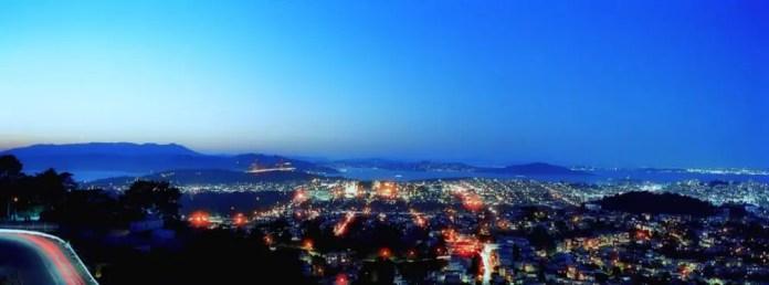 San Francisco Nightfall - Cinestill 800T (2015)