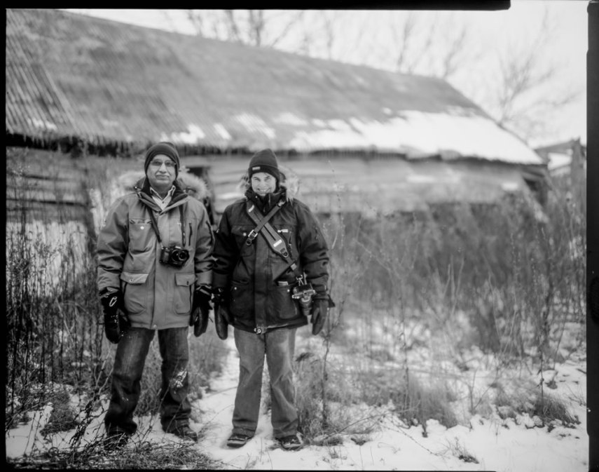 Don Kittle - Paper negative - End of the Barn-hunt Day - Ilford Multigrade IV RC Deluxe MGD paper