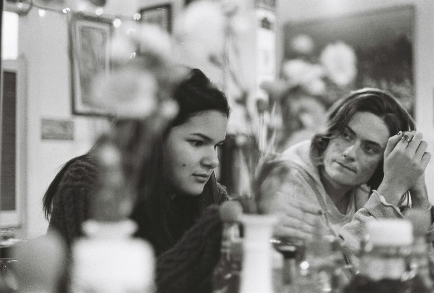 I love the grain and my friends hate this photo of them - Ilford HP5+