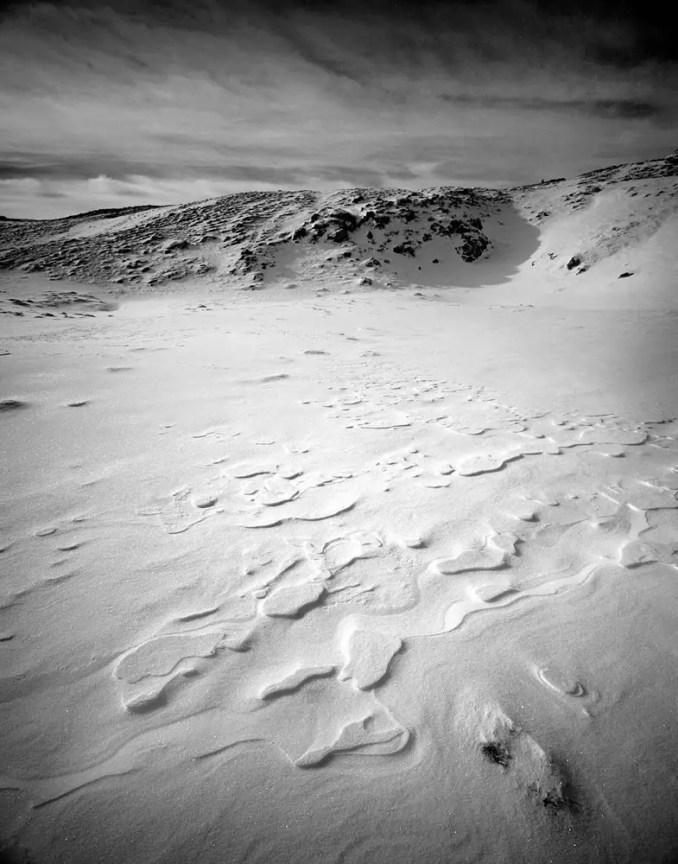Austrian Winter Landscape - Mamiya 7ii - Ilford Delta 100 Professional