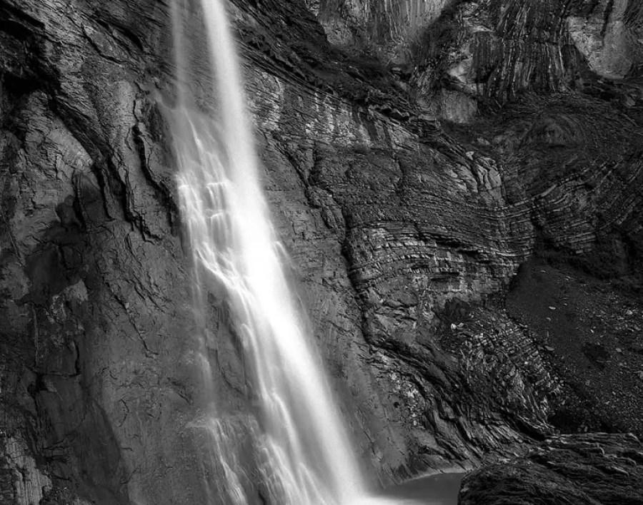 Thin Ice, Karwassersee, Austria - Mamiya 7ii - Ilford Delta 100 Professional