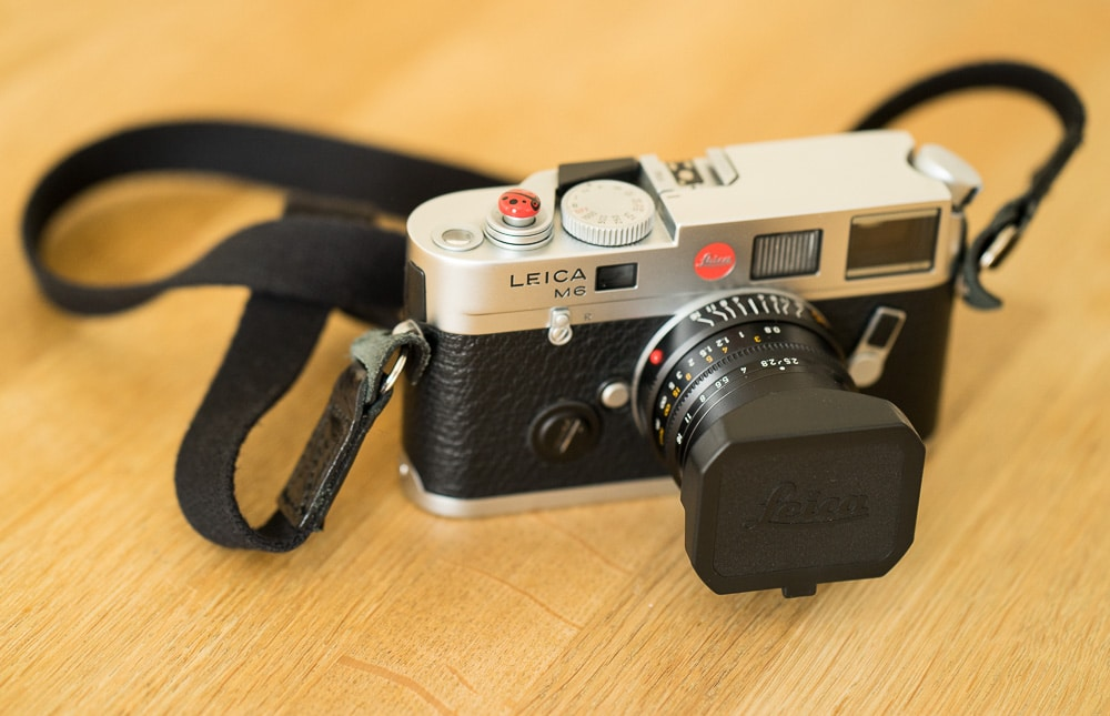 Leica M6TTL with 35mm Summarit F2.5 lens - Richard Pickup